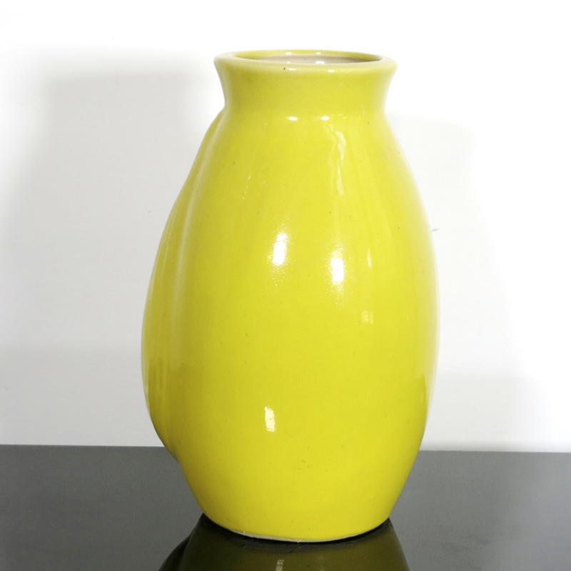grand vase jaune. Black Bedroom Furniture Sets. Home Design Ideas