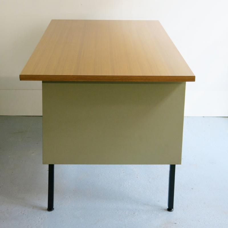 Bureau industriel for Bureau industriel bois et metal